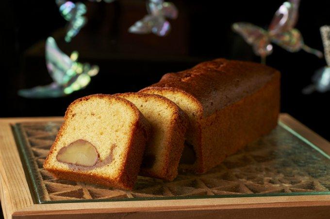 期間限定!ほどよく入った和栗にほっこり。ホテル雅叙園東京「和栗のパウンドケーキ」