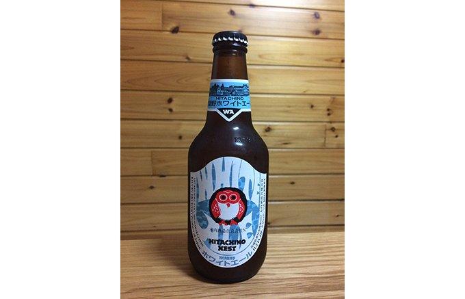 一口飲んで「うまい!」と唸る。造り酒屋が生み出すビール「常陸野ホワイトエール」