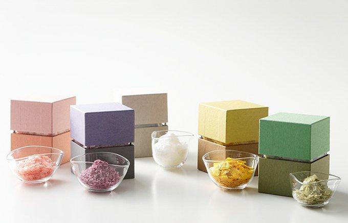 京都名料亭から魅惑の五色 海塩と米の新しい調味料