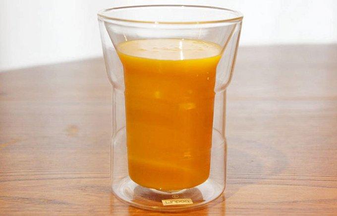 飲みごたえがある超濃厚完熟マンゴードリンク!