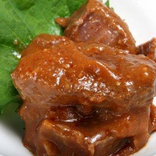 """岡山の鹿肉を地元の""""す梅""""やみそで仕上げた、岡山ならではのジビエ缶詰"""