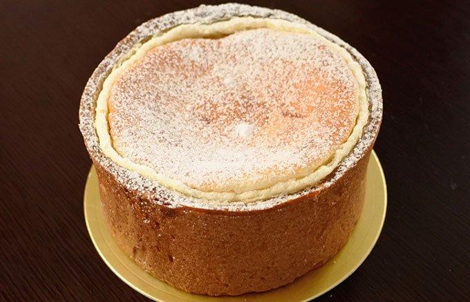 これが三ツ星ならぬ、七ツ星のチーズケーキだ!!