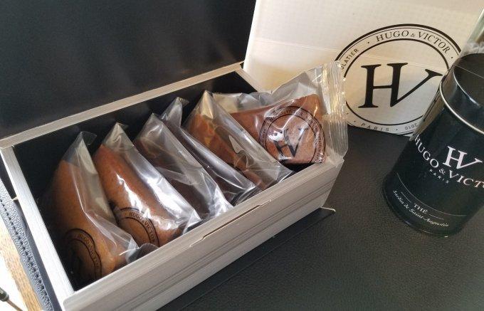 上品なバターが香る!フランスで1番に輝いたHUGO&VICTORのフィナンシェ