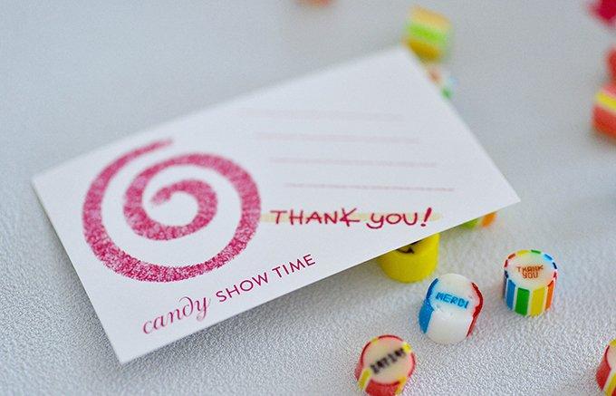 母の日に贈りたいメッセージキャンディー「CANDY SHOW TIME」