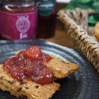 宮崎日向の朝採りイチゴごろごろの手作りジャムとコンポート