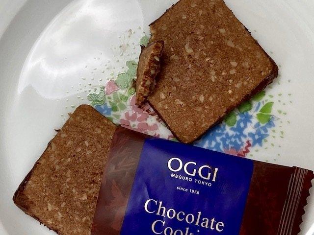 季節限定チョコクッキ―は、バランス流石、OGGIのクオリティ