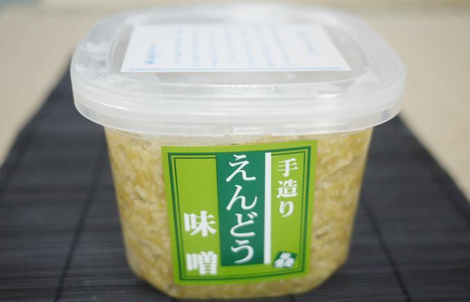 豆の甘味を楽しめる優しい「えんどう味噌」