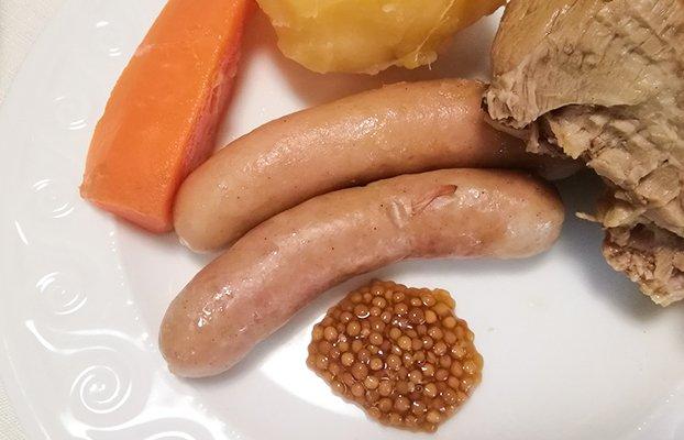 プチプチとまるでキャビアのような食感!湯布院『山荘 無量塔』の「粒マスタード」