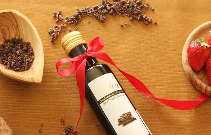 カカオの誘惑!チョコレートの香りをまとったエクストラバージンオリーブオイル