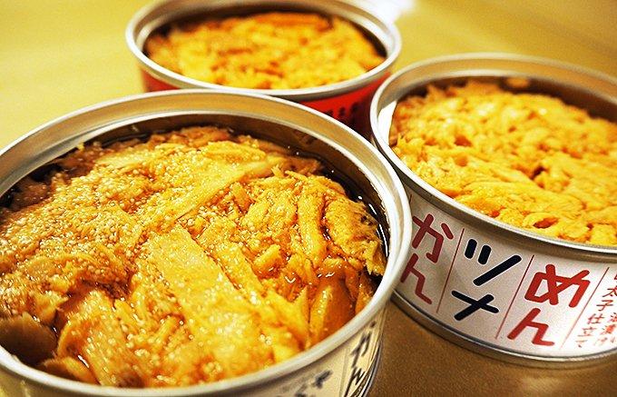 ありそでなかった明太子&ツナのミックス缶!福岡土産「めんツナかんかん」