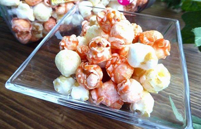 パーティーでハジけよう! 宮崎フルーツ果汁入り「宮崎プレミアムポップコーン」