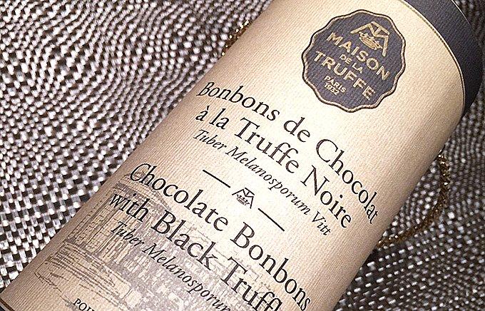 大人の薫りを愉しむ、イタリア産黒トリュフ入り「トリュフチョコレート」