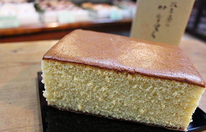 東京・四ッ谷、老舗和菓子店の「かすてら」