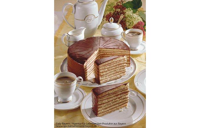 王子のために作られたケーキ!バイエルンを代表する「プリンツレゲンテントルテ」