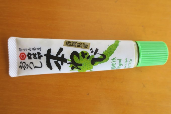 料理の味を決める!静岡産おろし本わさびの風味たっぷり。チューブ入りわさびはコレ!