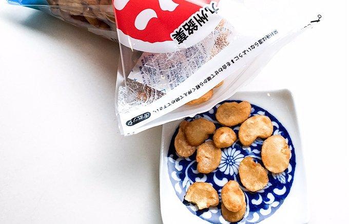 一人で一袋食べちゃった!もう止まらない!永遠にポリポリしたくなる豆菓子