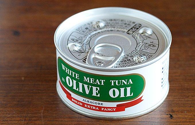 静岡の地元民に愛されている由比缶詰所のツナ缶で「ニース風サラダ」