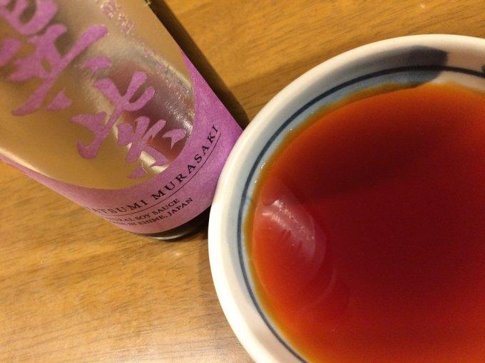 創業明治7年。ここでしか醸せない醤油第二弾。もち麦醤油「巽紫」
