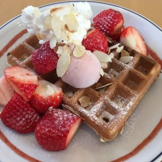 静岡の摘みたて苺をふんだんに使ったスイーツが大人気!農園カフェ『なかじま園』