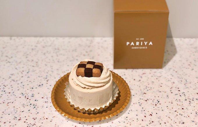 世界一フォトジェニック!?PARIYA「バナナキャラメルスカッチショートケーキ」