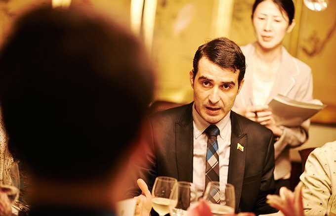 コロンビア大使公邸 本場シェフが振舞う コロンビアの食と文化の晩餐会【後編】