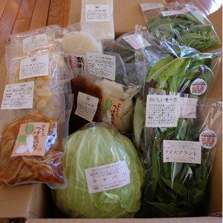 新潟「キッチンガーデン・とみおか」の米と野菜たちの玉手箱