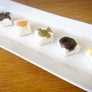 おかきで有名な赤坂柿山の米菓と和菓子の新ブランド「飄々庵」の味和音