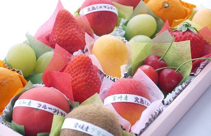 貰ったら嬉しい!アオイ農園のフルーツの宝石箱のような「季節のプチボックス」