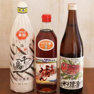 和食の味を引き立てる定番調味料3選