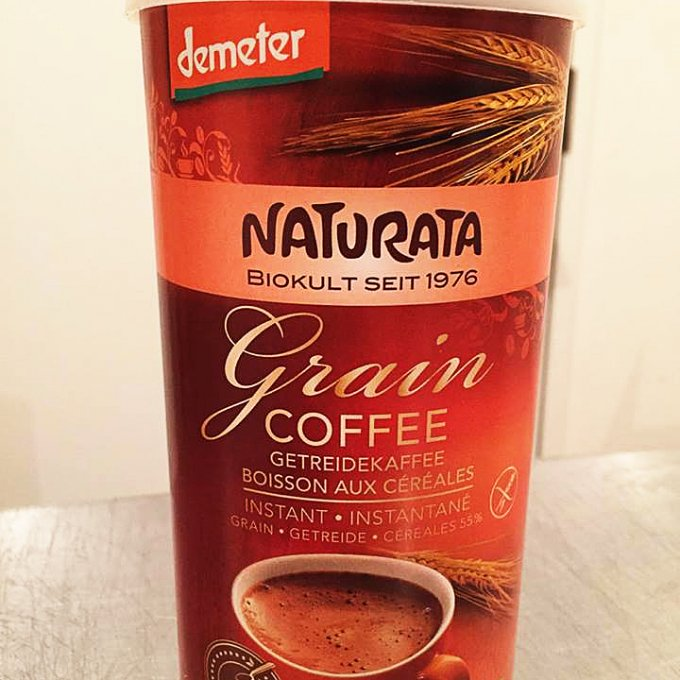 カフェイン・グルテンフリーのオーガニック穀物コーヒー「グレインコーヒー」