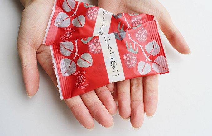 手土産に最適!美味しくてかわいい岡山敷島堂「いちご夢二」