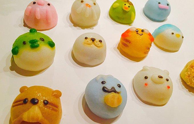 可愛すぎて食べられない! 名古屋老舗の手作りまんじゅう「てづくりすいぞくかん」