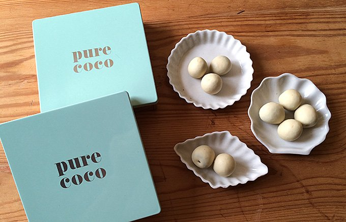 ワインに合わせたい『pure coco』のオリーブチョコ