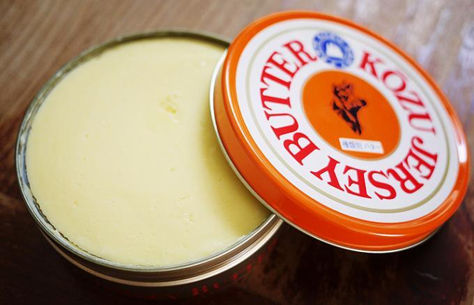ジャージーバターをフルーツバターにしてさらにおいしく!