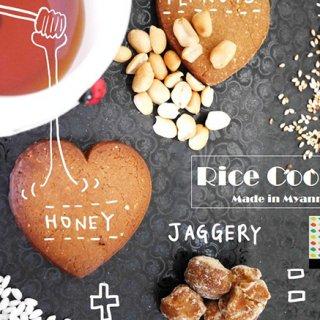 黒糖と米粉から作ったミャンマーの懐かしい味「ホワイトエレファントクッキー」