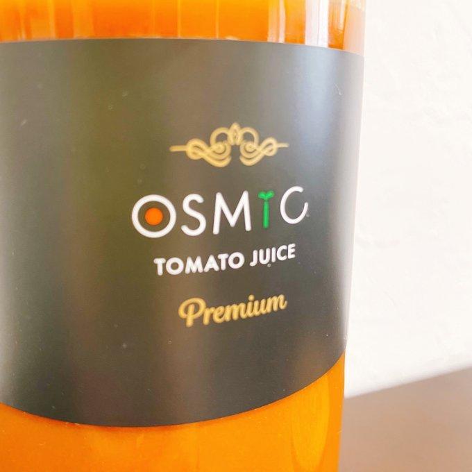 コップ一杯のごちそう!「OSMICトマトジュース Premium」