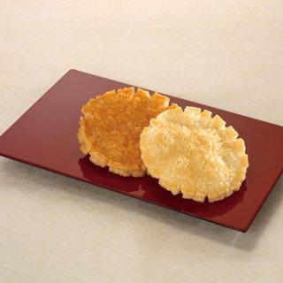 京都らしい「上品さ」を追求したおせんべい。小倉山荘の小倉名月