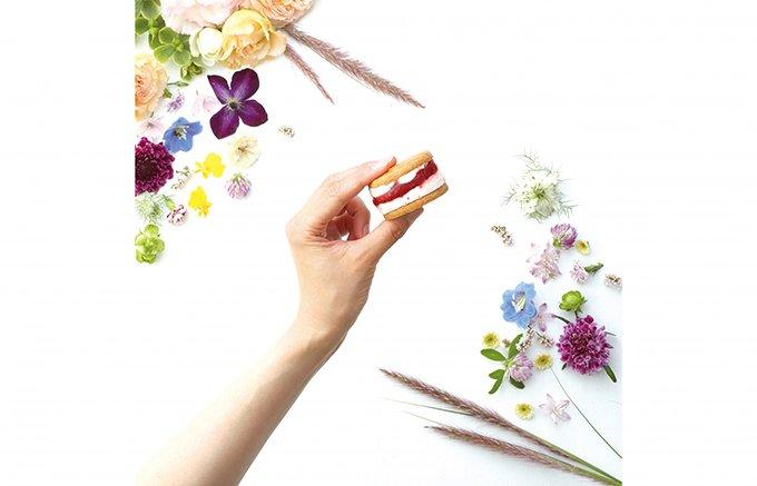 可愛さ倍増!豊かな時を彩る『FLOWERY FLOUR』のガトーサンド