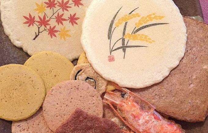 紅葉の季節の手土産に えびせんべいづくり一筋の名古屋 桂新堂の「秋ひらり」