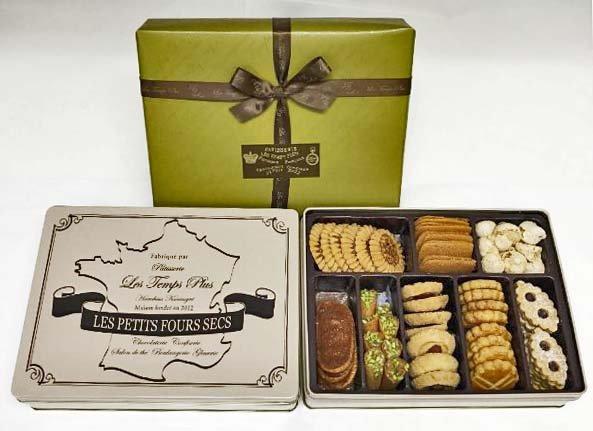 缶を開けたときのナッツとバターの香りがクセになる『レタンプリュス』のクッキー缶