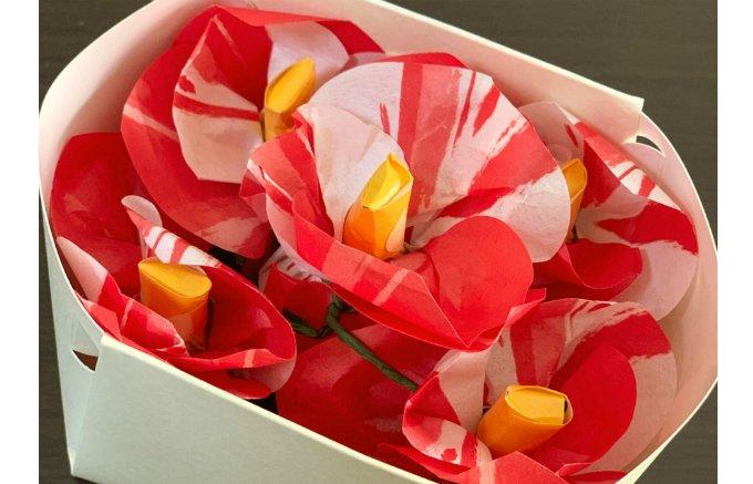 華かな椿の花!果汁感たっぷりの「せとか」の餡が魅力の和菓子はいかが?