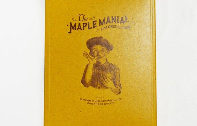 カナダケベック州産メープルをふんだんに使った、イラストが凄くキュートなクッキー