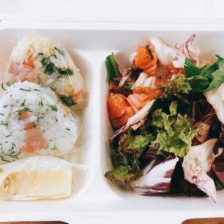 ノルウェー×日本、『Mowi Salmon』サーモンおにぎりのランチボックス