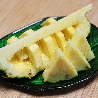 酸味が無く濃厚な甘味が特徴の最高級パイナップル「タダオ・ゴールド」!