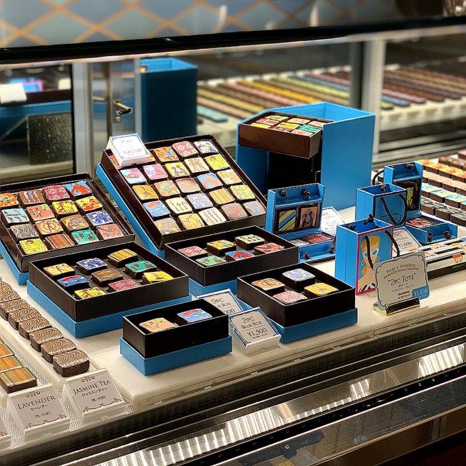 NY発ショコラティエ「マリベル・ザ・ラウンジ」大丸心斎橋本店にオープン!