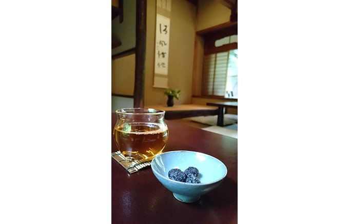 京都の老舗 注文から作る丁寧な和菓子『茶寮 宝泉』