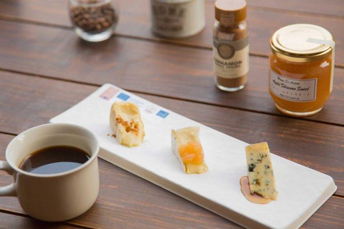 ヨーロッパ産チーズとコーヒーの新たなマリアージュを愉しんで