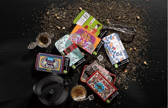 フレンチカラーの缶にひと目惚れ!プロヴァンスの香りを運ぶ「テールドック」のお茶