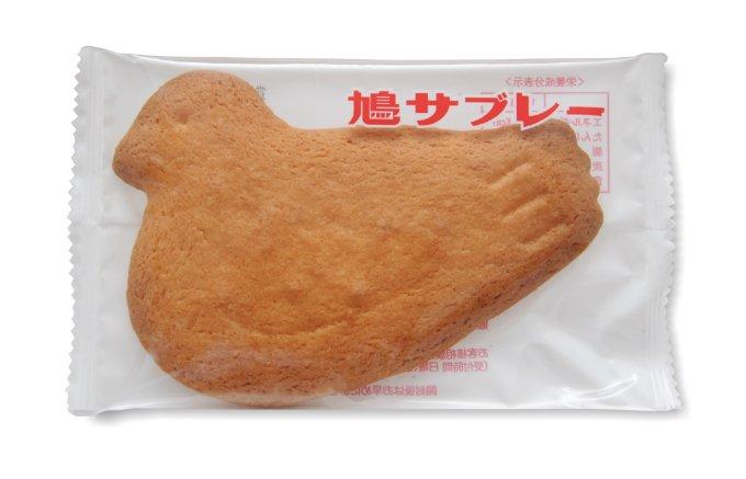 いつ食べても変わらない味!サクサクとした食感とバターの香りが特徴の「鳩サブレー」