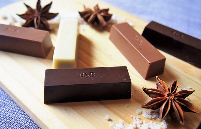 シンプルだからこそ味重視なチョコレートBbyB.の「The pure five」